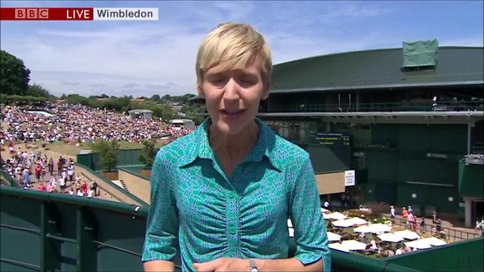 Johanna Konta - Wimbledon 2017 (BBC News)