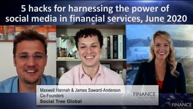 5 hacks for harnessing the power of social media in financial services