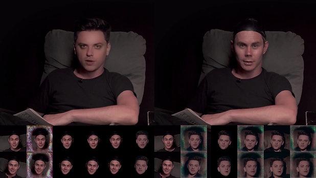 Топлес VS Топа полный дипфейк [deepfake, 2020]