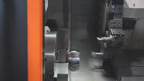 Tridan's Apprentice Co-ordinator, Tom Kidd, Talks about CNC Turning Apprentice - Matt Myles