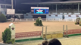 Emmy Dolin and Cruising Altitude $5,000 USHJA National JR/AM Hunter Derby with High Options