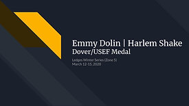 Emmy Dolin and Harlem Shake Dover USEF Medal and Test March 2020