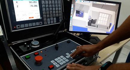 SSCNC Painel - Função RefPoint, JOG e Manivela eletrônica