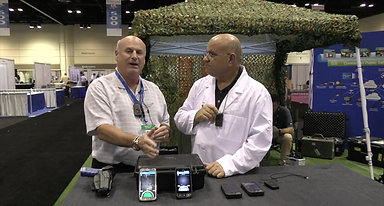"""APCO 2016  Rollts """"The Domino E1""""  Smart Gun Holster,  is this POSSIBLE?"""