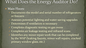 What to Expect During an Energy Audit Presentation for Event