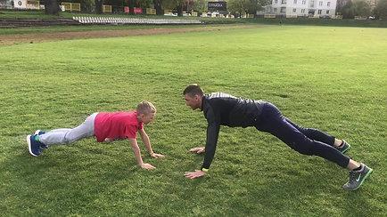 Tréning s deťmi