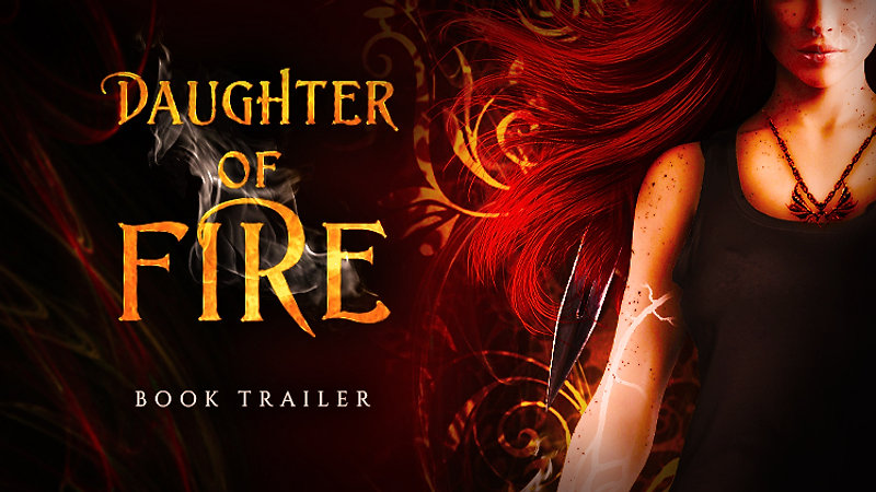 Daughter of Fire Book Trailer