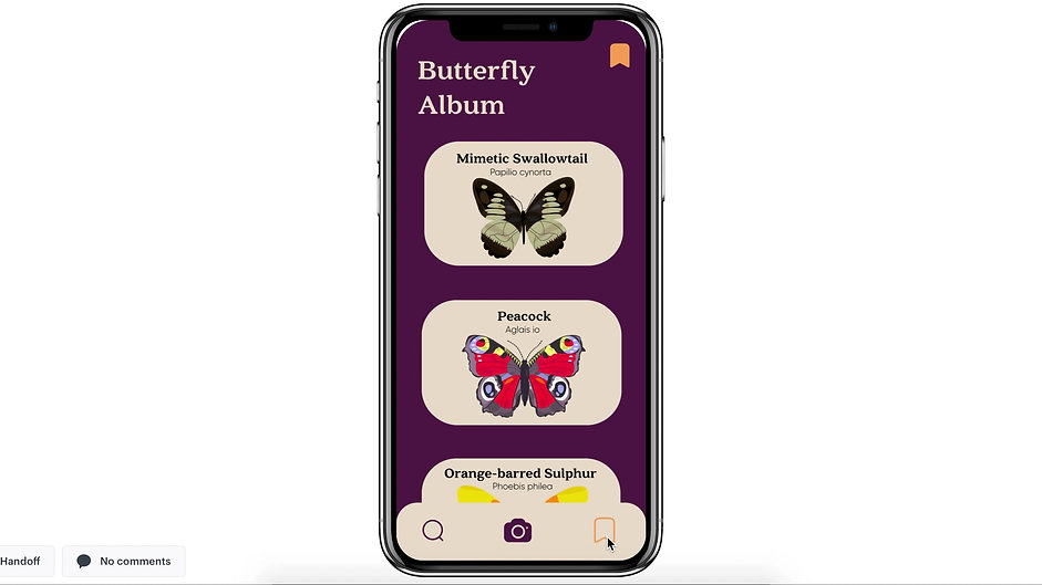 Papillon Interaction Prototype