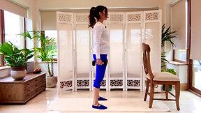 Circuit Pilates-Legs, Core & bum