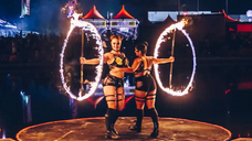 Fire Dancers - GIF Edit