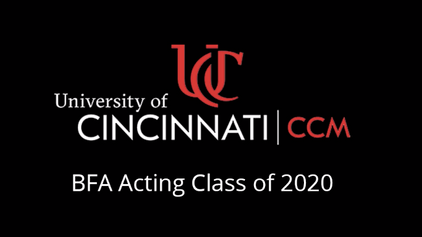 CCM Acting 2020 Senior Showcase Intro