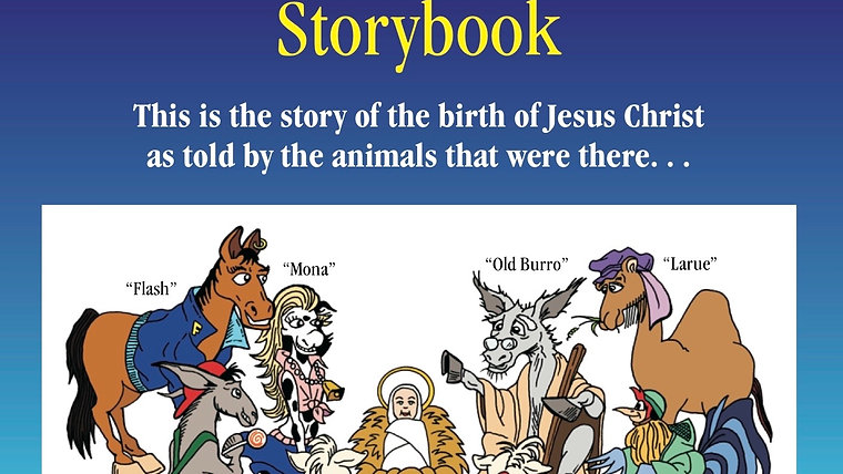 Barnyard Christmas Storybook (read by David Frizzell)