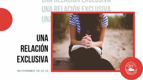 6/28/2020   Una Relación Exclusiva