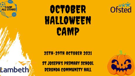 October Half-Term Camp