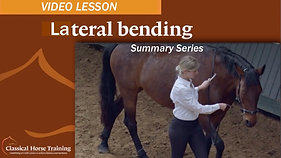 Summary Series: Lateral Bending