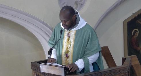 11:15am Holy Mass, Celebrant: Fr. Pio M. Idowu