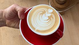 Latte Art Tulpe