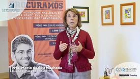 Professora Maria do Céu Machado