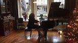 Kleine impressie van kersthuisconcert 22 december Chopin polonaise op. 26 nr. 1