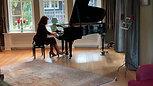 Mozart Sonate KV 545, deel 2 concert 23-10-'20