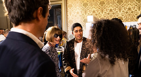 Anna Wintour at FAD & Vogue Talents Italia #ScoutingforIndia