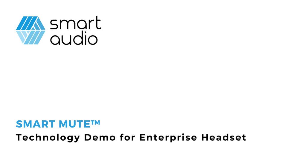 Smart Audio Demos