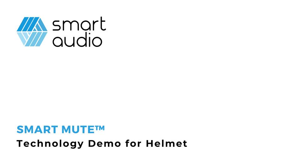 Smart Audio Helmet Demo