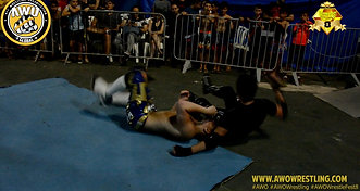 AWO WrestleFest 8 Highlights CJ Chaos vs. Gal Barkay