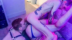 Rough Orgy Party - Sharing Twinks