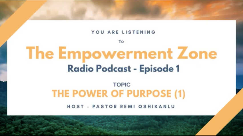 Empowerment Zone - Radio Podcast