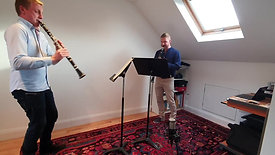 Chris Goodman and Chris Hatton, Clarinets | Orpheus Sinfonia: Adjourned but Still in Session