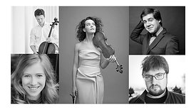 Alena Baeva & Friends: Dvořák String Quintet No. 2