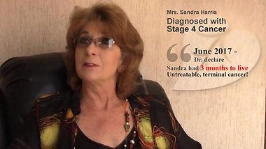 Mrs. Sandra Harris   Beaten Terminal Cancer within 2 Months - Testimonial