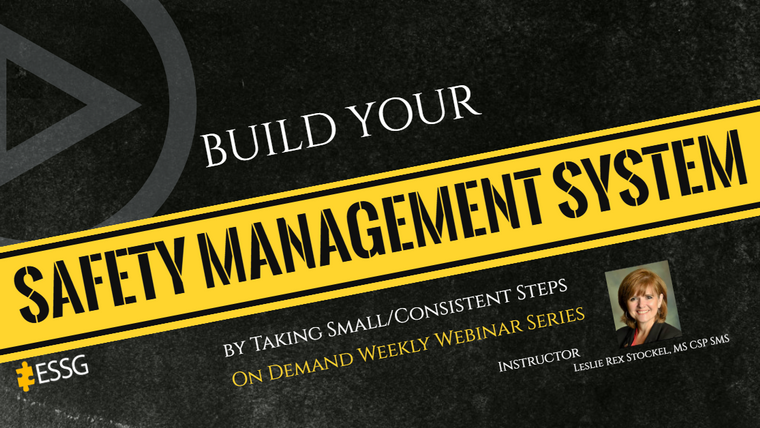 Safety Management System Webinars (50 Week Series)