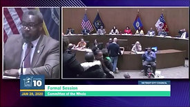 Matthew Abel Addresses Detroit City Council January 28, 2020