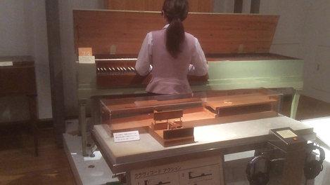 楽器博物館での演奏①