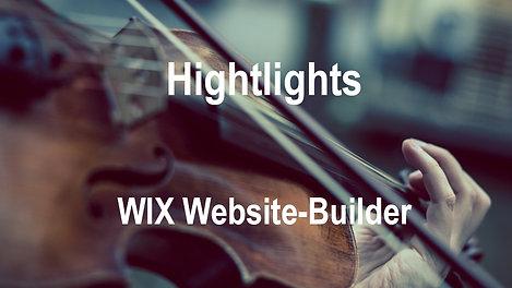 Highlights WIX Website-Builder