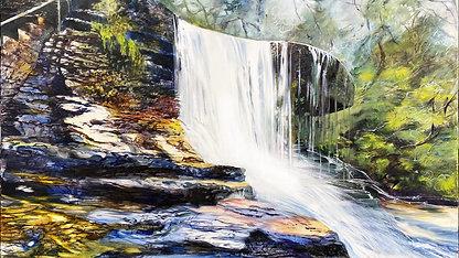 Weeping Rock Waterfall NFT