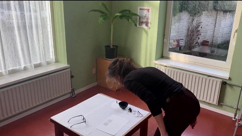 Ellen pen& ink drawing 2020