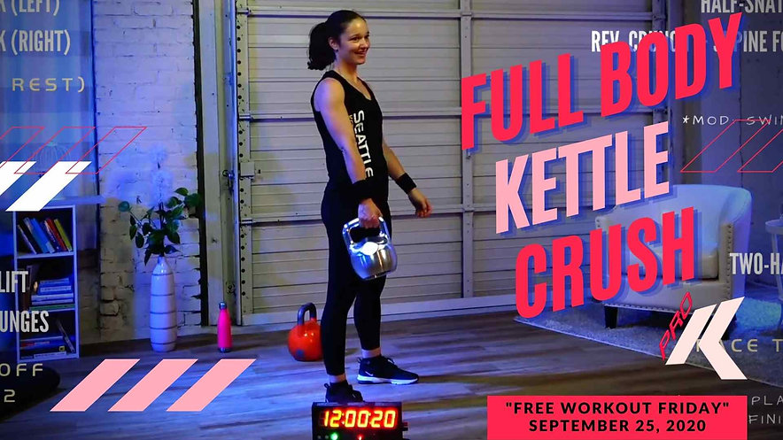 Full Body Pro Kettlebell Class