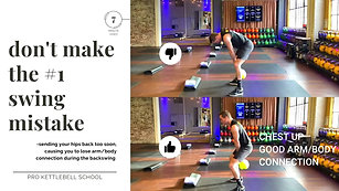 #4- How to Swing a Kettlebell Like a Pro... Avoid the #1 Mistake
