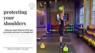 Pro Kettlebell Fundamentals #9- Protecting Your Shoulders
