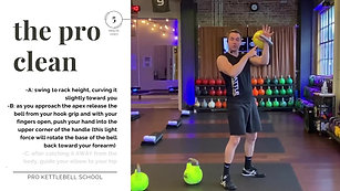 Pro Kettlebell Fundamentals #8- The Clean