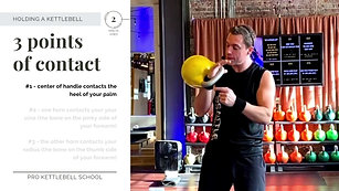 Pro Kettlebell Fundamentals #7A- How to Hold a Kettlebell- Hand Insertion