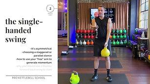 Pro Kettlebell Fundamentals #5- Single-Hand Swing