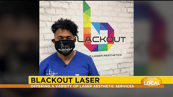 BLACKOUT LASER on living local