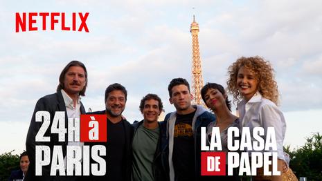 LA CASA DE PAPEL 24H A PARIS