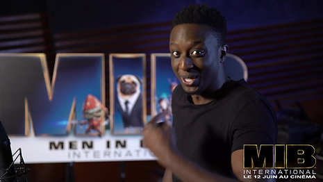 MAKING OF AHMED SYLLA IN MIB