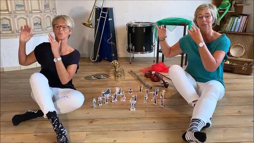 Aufstell Orchester Ruth/Bärbel