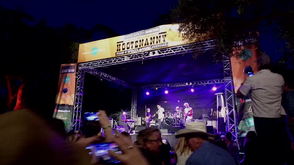 THE SIGHTS, SOUNDS & FLAVORS OF THE HOOTENANNY!